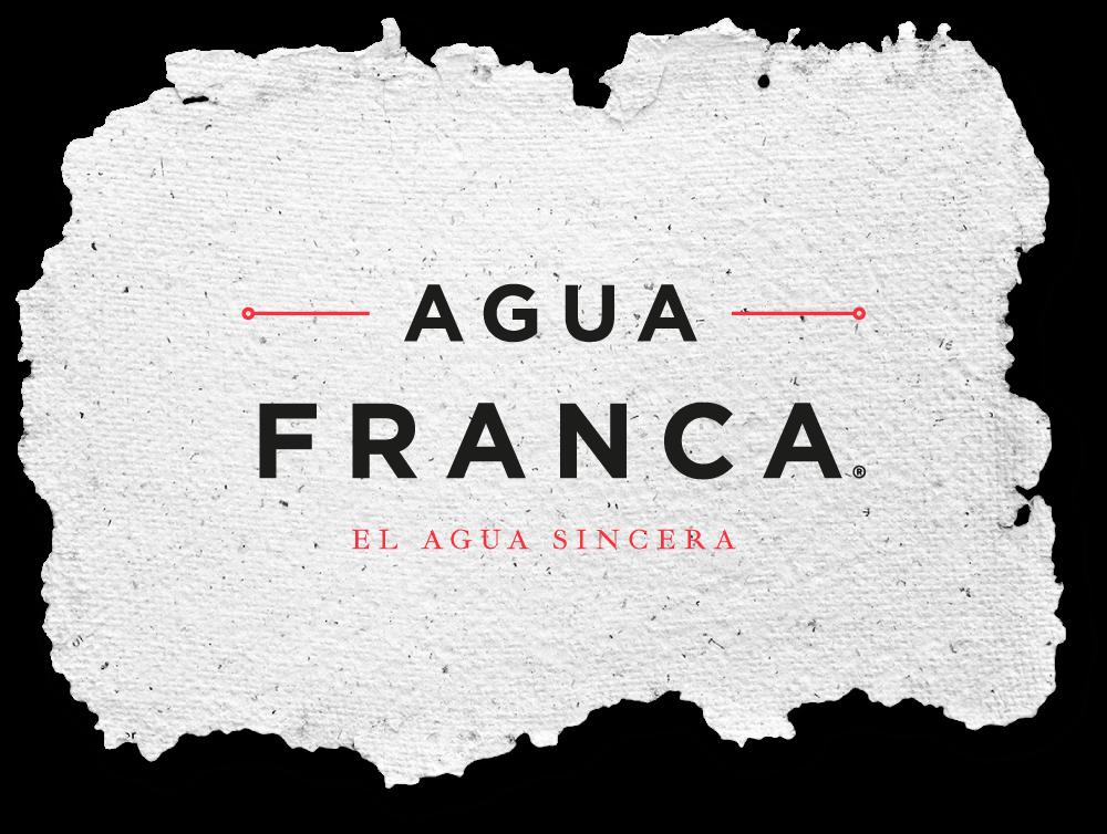 Agua-Franca-Logotipo-Papel-Corrugado